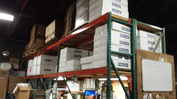 A brief glimpse at the shipping department