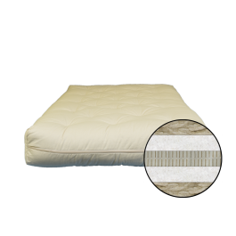 Sublime All Natural Latex Mattress Futon