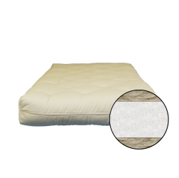 8 inch Cotton and Wool Fiber Futon