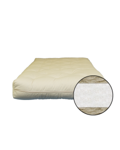6 inch Cotton and Wool Fiber Futon