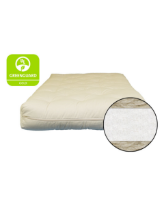 6 inch Cotton and Wool Fiber Futon - Mattress