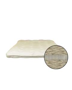 Heavenly 4 inch Latex and Wool Mattress Topper